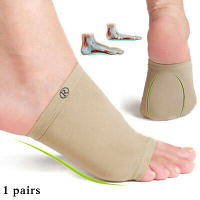 Arch Pad Support Silicone Insole Flat Feet Pad Pain Relief Plantar Fasciiti Foot