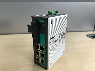 MOXA EDS-305-S-SC-T Industrial Unmanaged Ethernet Switch