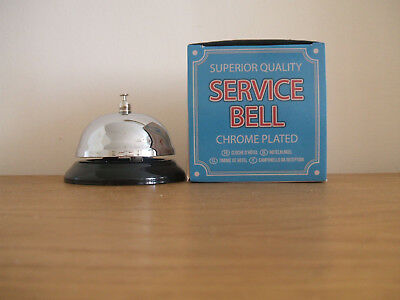 Superior Quality SERVICE BELL Chrome Plated.