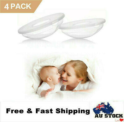 2X Breast Milk Collection Shell Breast Saver Portable for Daily Working Moms AU