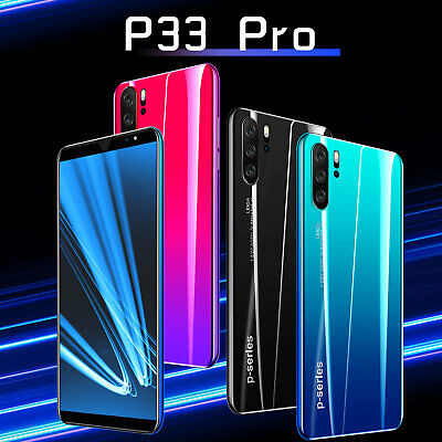 "P33/P33Pro Unlocked Smart Mobile Phone 5""/5.8'' Android 8.1 Dual SIM & Camera"