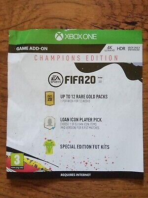 FIFA 20 Xbox One Champions Edition  DLC ONLY