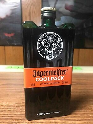 Rare Jagermeister 375Ml Plastic Coolpack Bottle From The Usa