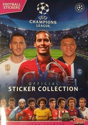 Topps Uefa Champions League Sticker Collection 2019/20 Choose Your Sticker 1-193