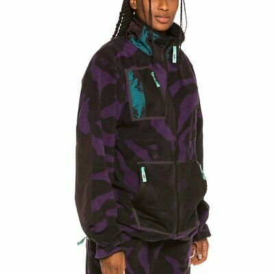 Grimey MYSTERIOUS VIBES ZIP POLAR - Giacca in pile pink