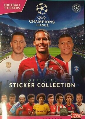Topps Uefa Champions League Sticker Collection 2019/20  403-595