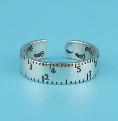 China 925 Silver Hand-Carved Ruler Ring Exclusive Custom Gift Collec  Old