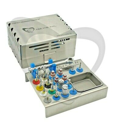 Dental Implant Surgical Compact Organized Conical Drills Kit