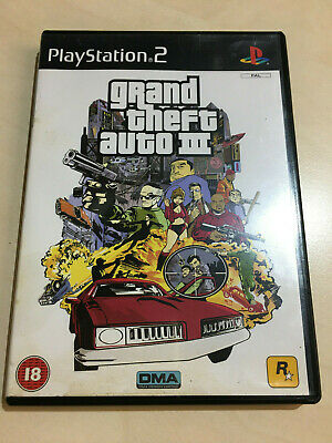GRAND THEFT AUTO 3 GTA 3 for the PLAYSTATION 2 PS2