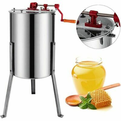 Honey Extractor 3 Frame Manual Spinner Stainless Steel - Langstroth Beekeeping