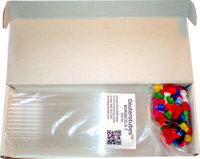 """NMR Tubes by Deuterotubes, 300-600 MHz; 7"""" long; 5mm OD; 100 ea. Made in Germany"""