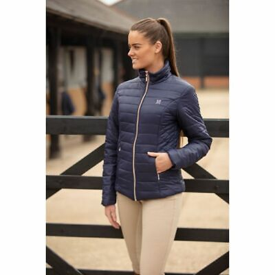 NEW 2019 MARK TODD JACKET RHAPSODY LADIES NAVY/ROSE GOLD All Sizes