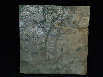 Ancient Glazed Tile Islamic 1000 AD  No Reserve #PT640