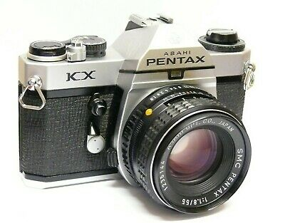 Pentax Kx + Smc 55Mm F1.8 Lens. Excellent Condition. All In Good Working Order.
