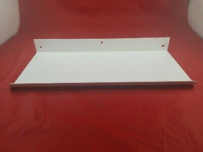 Vintage White Porcelain Bathroom Wall Mount Shelf Never Used  Lot(730-54)vc