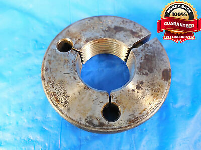 THREAD RING GAGE 1-1//2 x 12 NF GO PD: 1.4459