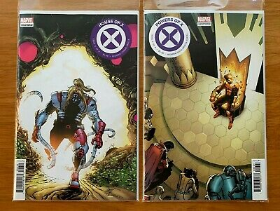 HOUSE OF X #6, POWERS OF X #6 Camuncoli Foreshadow Variants Marvel 2019 NM+