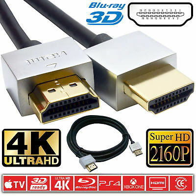 PREMIUM UltraHD HDMI Cable v2.0 High Speed 4K 2160p 3D Lead Ethernet Channel