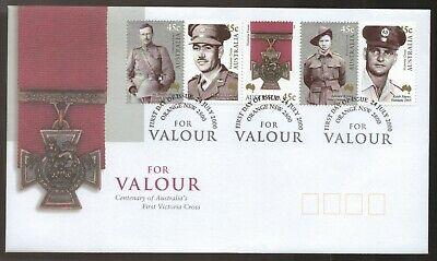 PNC Australia 2000 For Valour First Victoria Cross Centenary RAM $1 Coin