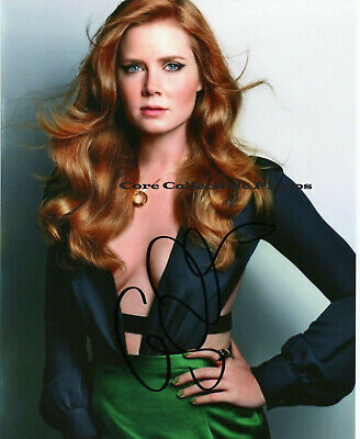 Amy Adams signed 8 x 10 photo Autographed SIGNED Reprint