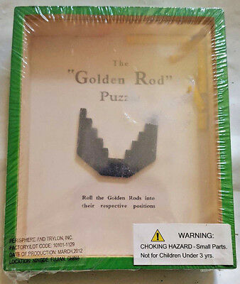The Golden Rod Puzzle New Vintage Game