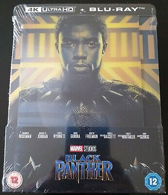 Steelbook Black Panther 4K UHD Zavvi