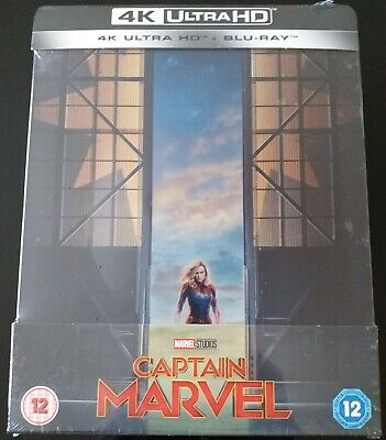 Steelbook Captain Marvel 4K UHD Zavvi