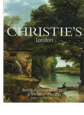 Christies 2001 British Pictures 1500 - 1850 & Victorian Pictures