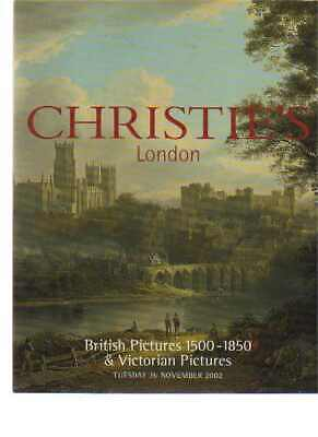 Christies 2002 British Pictures 1500-1850 & Victorian Pictures
