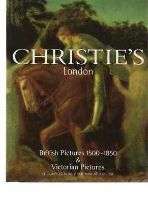 Christies 2003 British Pictures 1500-1850 & Victorian Pictures