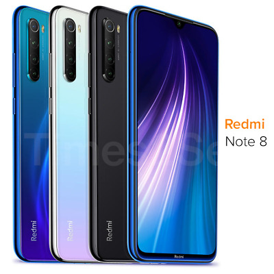 "Xiaomi Redmi Note 8 64GB 4GB RAM (FACTORY UNLOCKED) 6.3"" Dual-SIM 48MP New"