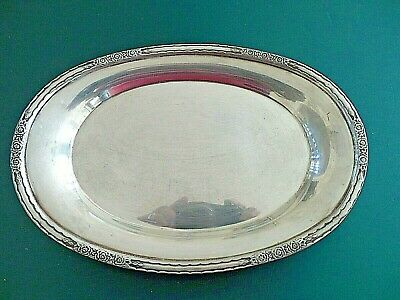 VTG International Silver Company Silverplate Tray Nut Candy Dish CAMILLE- 6029