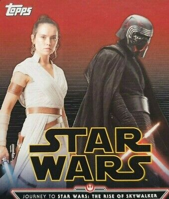 Star Wars Topps Disney Force Attax Rise Of Skywalker Illustrated Character