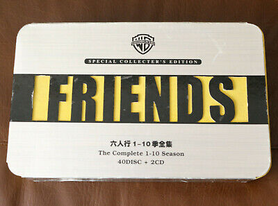FRIENDS NTSC Special Collector's Edtion Complete 1-10 DVD 40 discs 2CD English