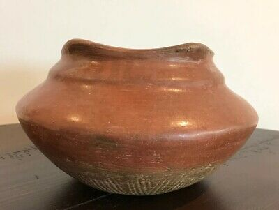 Authentic Large Pre Columbian Jalisco Pottery/gallery Purchase, Includes COA
