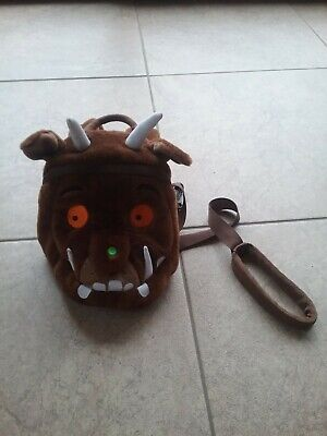 The gruffalo toddler back pack with parent strap