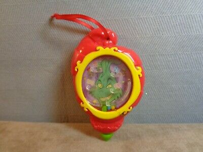 Dr Seuss How The Grinch Stole Christmas Plastic Pinball Ornament (Cb132)
