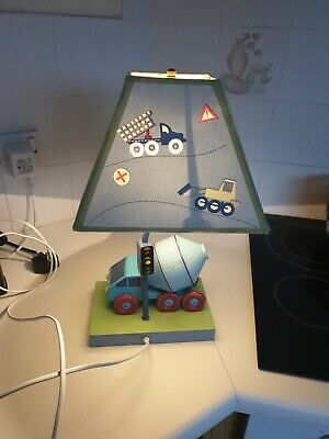 Boys Bedroom Night Lamp. Solid Quality Made Product.