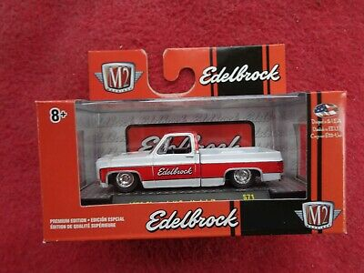 M2 Machines 2019 O'Reilly Exclusive 1979 Chevrolet Scottsdale Edelbrock Pickup