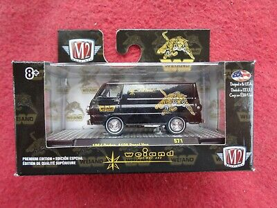 M2 MACHINES O'Reilly Exclusive 1964 Dodge A100 Panel Van WEIAND 1/64 Limited Ed.