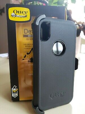 New NIB OTTERBOX Defender Series Screenless Case for Apple iPhone XS Max Black