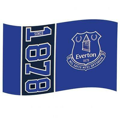 Official EVERTON FC Flag  5ft x 3ft Toffees Club Crest Football Gift