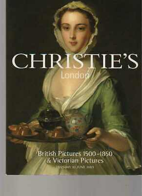 Christies 2003 British Pictures 1500 - 1850 & Victorian Pictures