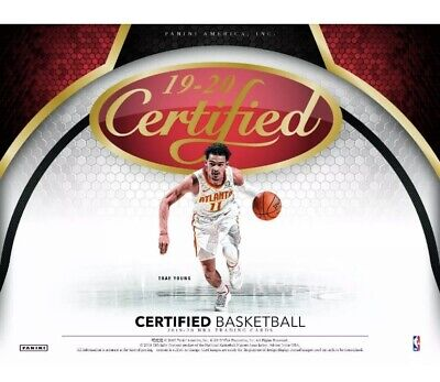 2019-20 Panini Certified Basketball Hobby Sealed Box Pre Sell! Zion Rc Auto??