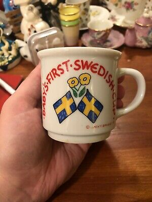 Babys First Swedish Cup Bergquist Imports