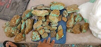 rough stabilized #8 turquoise  (by the pound)