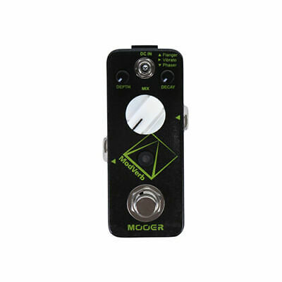 New Mooer ModVerb ModulationReverb Guitar Effects Pedal!!