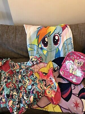 My Little Pony Swim Bundle And Dressing Gown To Fit Age 3-4