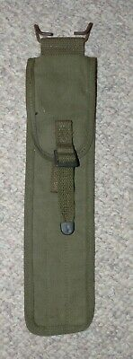 WW2 US Army Issue OD Canvas M1 Garand Rifle Cleaning Rod Case Dated 1944