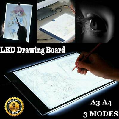 A3 A4 A2 LED Light Box Tracing Drawing Board Stencil Tattoo Art Design Copy Pad